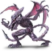 Super Smash Bros. Ultimate - Ridley - Render by CynicSonic