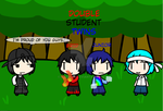(walfas) Double student Twins by Godeung