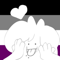 Asexual Icon commission by TropicaIDeer