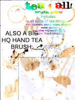 Tea 4 all - HQ Brushes by h0ttiee