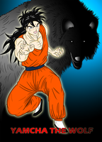 Dragon Ball Z - Yamcha the Wolf by neo-verse