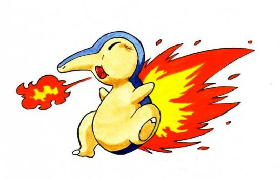 Cyndaquil by Speezi