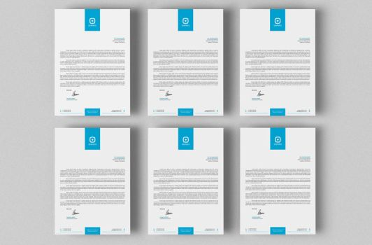 Corporate Letterhead Vol.12 with MS Word by nazdrag