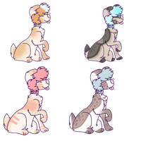 Adoptables Batch[OPEN] by AmriBat