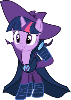 Twilight Sparkle unmasked by vectorvector