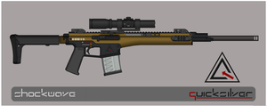 Quicksilver Industries: 'Caspian' Precision Rifle by Shockwave9001