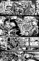 Poison Elves page from issue #1 by ShannonRitchie