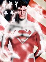 christopher reeve red by megamike75