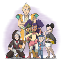 Iris's Team by ToonYoungster