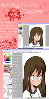 Hair and Eye Tutorial by Tani2691