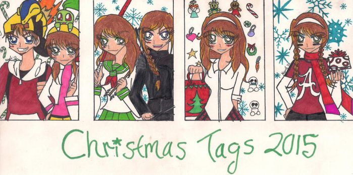 X-mas tags 2015 by rumiko18