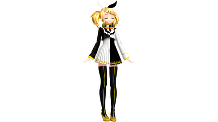 Project Diva Future Tone Reactor Rin by WeFede