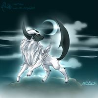 Absol IS MAN-HAIRY:Speedpaint