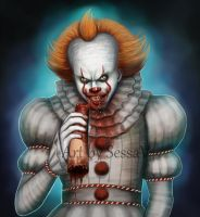 Pennywise - It - 10 by SessaV