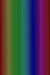 rainbow iphone verticals by Irunwithknives
