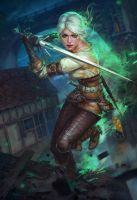 Ciri by PavelTomashevskiy