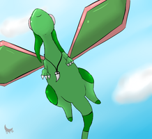 -Gift- Glider in the sky by Umbraling
