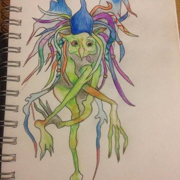 Dreadlock Fairy by Itchywitchygirl
