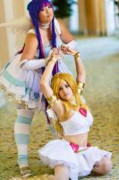 Panty and Stocking by bekalou-cosplay