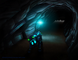 Exploring Caves by SpaceDog500
