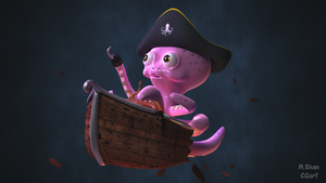 OctoPirate by MaryShan