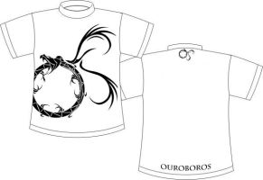 Ouroboros - T-Shirt Design by klausNex
