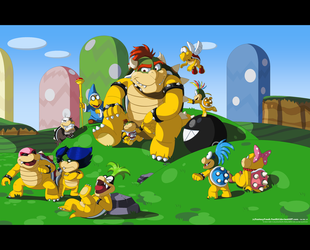 The Koopa King by FantasyFreak-FanGirl