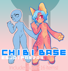 Chibi Base Pack by King-Hime