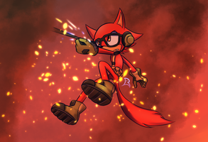 Sonic Forces - Custom The Character by Phantom-Radea