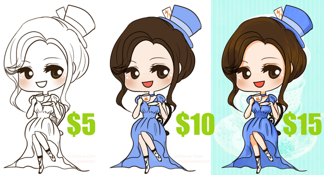 FAST Summer Commissions - CHIBIS OPEN! by slvadrgn