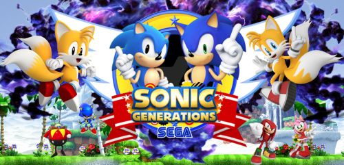 Sonic Generations wallpaper by Moon41083