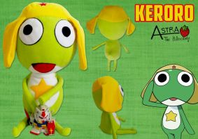 Keroro Plush by DemodexPlush
