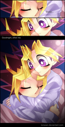 Puzzleshipping- Goodnight by LorSean
