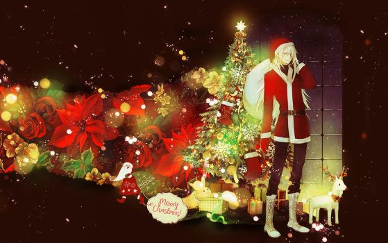 Just Christmas wallpaper by lady-alucard