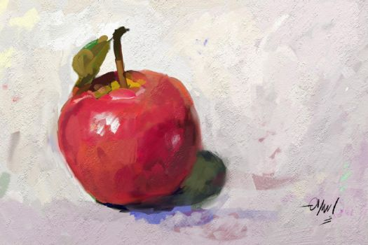 Just an apple by is-ashour