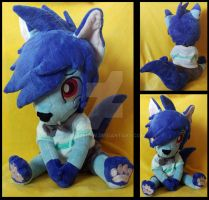 Klaud von Nyxyn Plushie by AppleDew