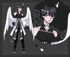 Angel Adopt 06 AUCTION [CLOSED] by Lilithsleepsadopts