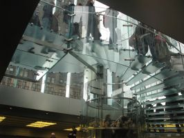 new york apple store 2 by VIRGILE3MBRUNOZZI