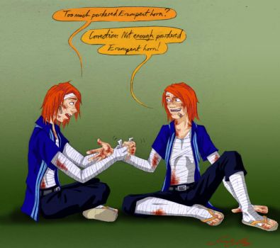 Fred and George- Accidents by olafpriol