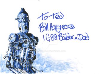 IG-88 - signed by Bill Hargreaves by tdastick