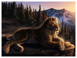Ancient King in a Modern Realm by Art-of-Sekhmet