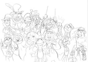 SD13 - Everything's Better With Muppets by jbwarner86