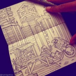 Doodle - A Kind Of Neotokyo by hybridgothica