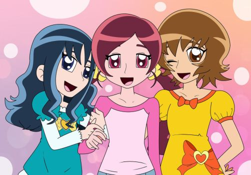 Heartcatch Precure by HTFWhiskersthecat