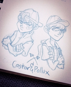 Castor And Pollux by SarahCulture