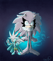 Silver and Zielo-Control by Gigi-D