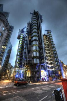 Lloyds Building HDR by geolio