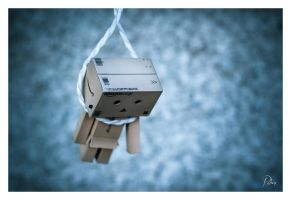 Hanged Danbo by Robinours2b
