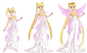 Neo Queen Serenity Time Line by ladyjade26