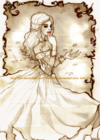 Alice in wonderland: The White Queen by kika1983